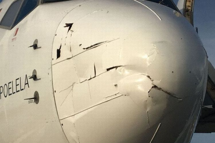 Boeing-737-700-collided-with-a-drone-on-approach-to-Tete-Mozambique